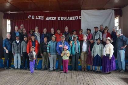 Friends in Peru