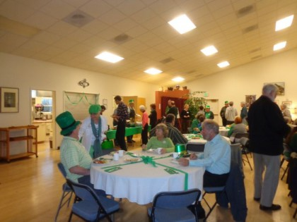 2014 3-15 St Pats Dinner