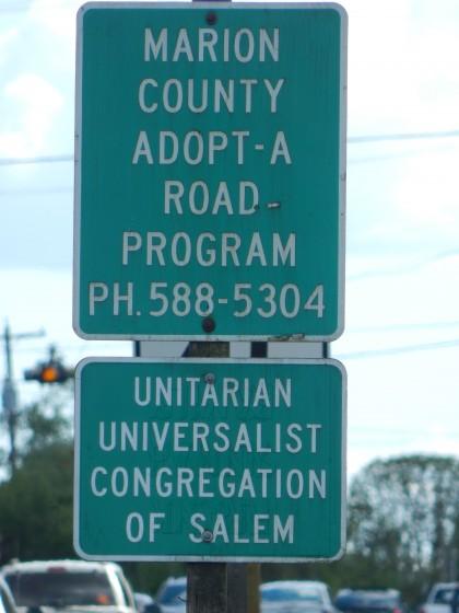 Adopt a Road UUCS