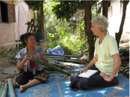 Khoutkeo's success with the microfinance project in Laos