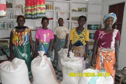 UUCS Microfinance Project made it possible for these Kenyan women to realize a harvest that will provide food for their families and money for healthcare and education