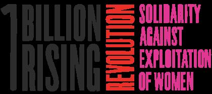 1 Billion Rising Revolution Solidarity against Exploitation of Women logo -free logo downloaded 2-6-2017 vc