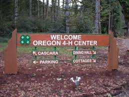Sign Welcome to Oregon 4-H Center uploaded from 4-H center website 2017-2-20