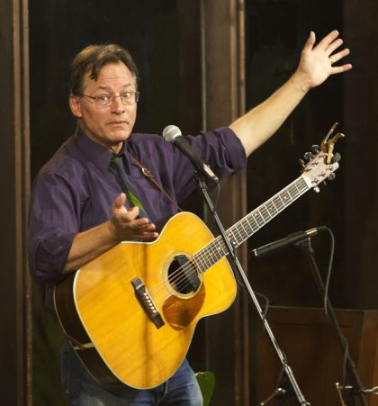 Roy Zimmerman, satirist and song writer 2017-2-1