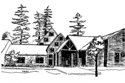 Sketch of UUCS building