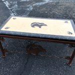 Item 43 - Southwest-style Bear Coffee Table
