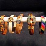 Item106 - Handmade Leather Bracelets