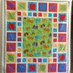 Item 23 - Handmade Child's Quilt With Animals