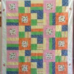 Item 24 - Handmade Child's Quilt With Butterfly Motif