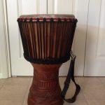 Item 31 - African Djembe Drum