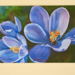 """Item 92 - """"First Sign of Spring"""" by Kathy Haney"""