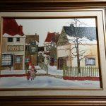 Item 81 - Winter Scene Print