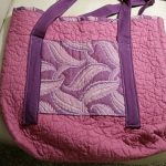 Item 77 - Quilted Tote Bag