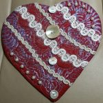Item 76 - Quilted Red Heart