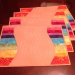Item 20 - Hand-made Quilted Placemats