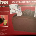 Item 58 - Remote Caddy With Coasters