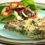 Item 80 - Jane's Famous Spinach Quiche Supper