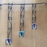 Item 41 - Wall-mounted Candle Holders