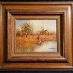 "Item114 - Oil Painting, ""Duck Blind"""